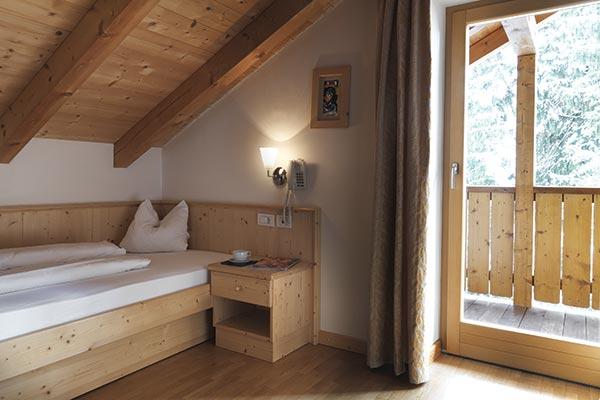 Hotelzimmer Maisonette mit Balkon