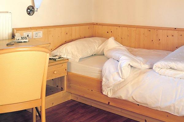 Bett Hotelzimmer